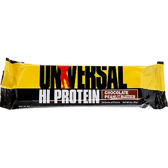 Universal Nutrition Hi Protein Bar - 16 Bars - Chocolate Peanut Butter
