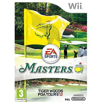 Tiger Woods Pga Tour 12 The Masters (Wii) - Som ny