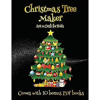 Art n Craft for Kids (Christmas Tree Maker) - This book can be used to
