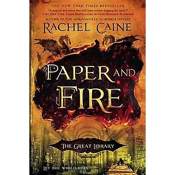 Paper and Fire by Rachel Caine - 9780451473141 Book