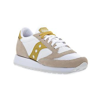 Saucony jazz white gold sneakers fashion