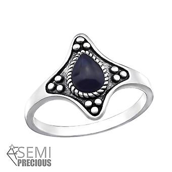 Sodalite - 925 Sterling Silver Jewelled Rings - W32338x