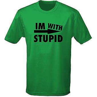 I'm With Stupid Mode Mens T-Shirt 10 Colours (S-3XL) by swagwear