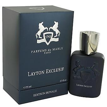 Layton Exclusif Eau De Parfum Spray By Parfums De Marly 2.5 oz Eau De Parfum Spray