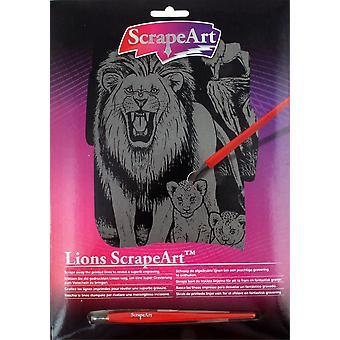 Scrapeart van leeuwen