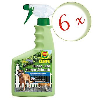 Sparset: 6 x COMPO Dog and Cat Scare, 500 ml