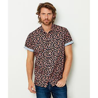 Joe Browns Mens Safari Holiday Giraff Print Shirt