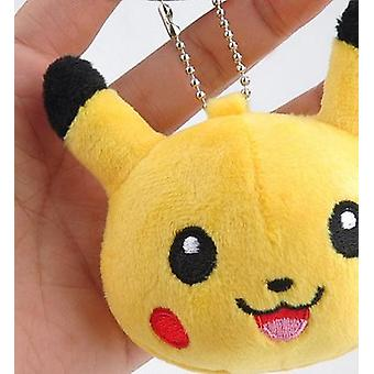 Stuffed Plush Cartoon Character Key Chain Dolls