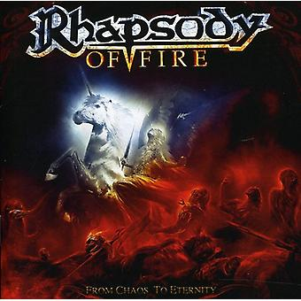 Rhapsody of Fire - From Chaos to Eternity [CD] USA import