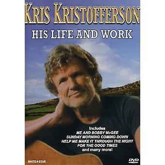 Kris Kristofferson - His Life & Work [DVD] USA import
