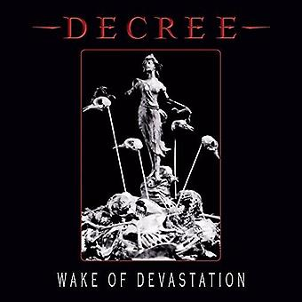 Wake Of Devastation [CD] Etats-Unis importation