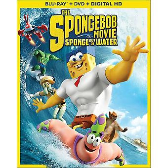 Spongebob film: Svamp av vatten [BLU-RAY] USA import