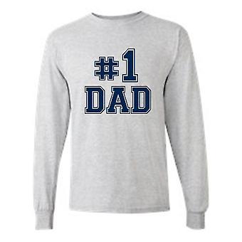 """Menn ' s du vet det de vet det vi alle vet det; """"#1 pappa"""" T-skjorte"""