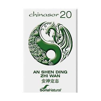 Chinasor 20 An Shen Ding Zhi Wan 30 tablets