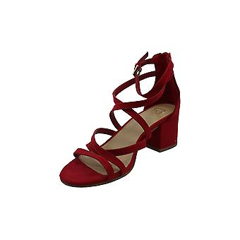 Material Girl Womens Minez1 Open Toe Formal Ankle Strap Sandals