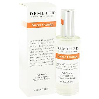 Demeter słodki pomarańczowy spray koloński przez demeter 448949 120 ml
