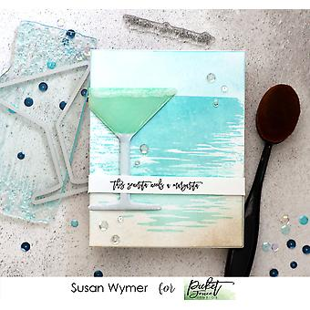 Picket Fence Studios Setting On The Sea Clear Stamps