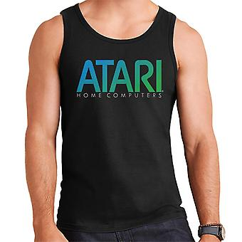 Atari Home Computers Blue Logo Men's Vest