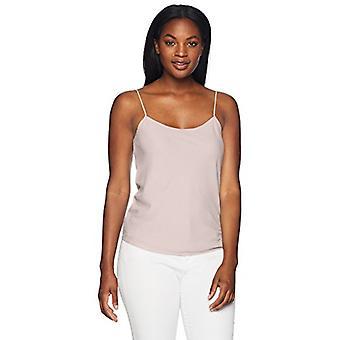 Brand - Lark & Ro Women's Camisole Top, Dusty Rose, 12