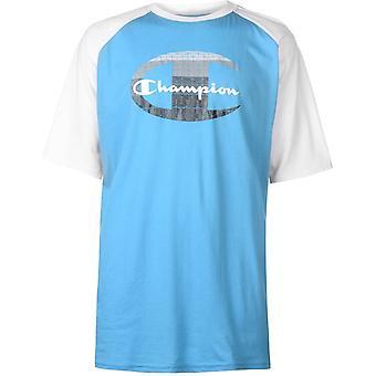 Mester Raglan Ermet T-skjorte Menns