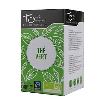 Organic green tea 24 packets