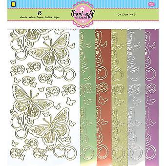 JEJE Produkt Butterflies Peel-off Stickers