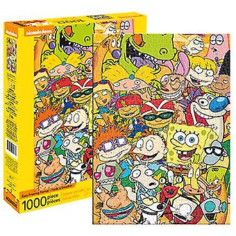 Nickelodeon cast 1000pc puzzle