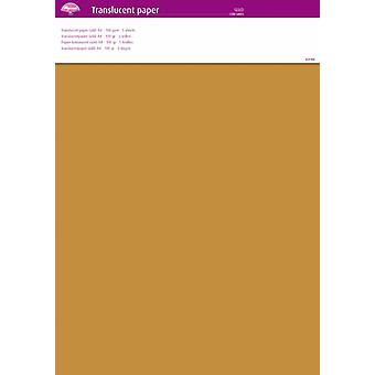 Pergamano Translucent Paper Gold A4 100 gsm 5 Sheets