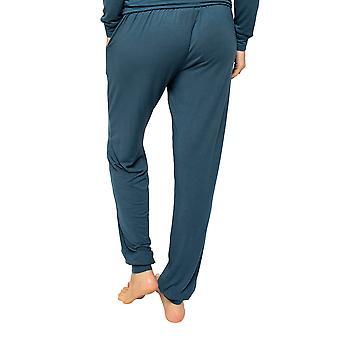 Cyberjammies Elena 4576 Kvinnor's Teal Blå Pyjama Byxa