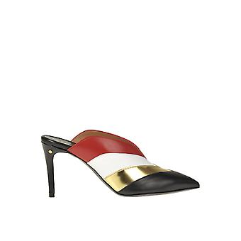 Laurence Dacade Ezgl381005 Women's Multicolor Leather Sandals