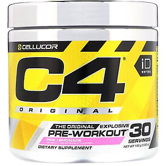 Cellucor, C4 Original Explosive, Pre-Workout, Pink Lemonade, 6.88 oz (195 g)