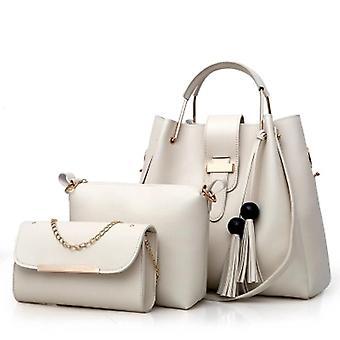 Kvinnor & apos, s tre stycken mode casual handväskor