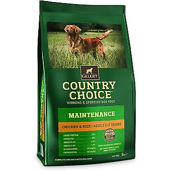Gelert Country Choice Wartung Huhn & Reis - 12kg