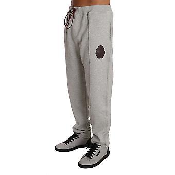 Gri bumbac Pulover Pantaloni Trening BIL1020-4