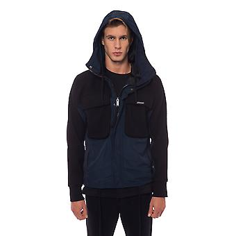 Nicolo Tonetto Black Blue Jacket NI822798-S