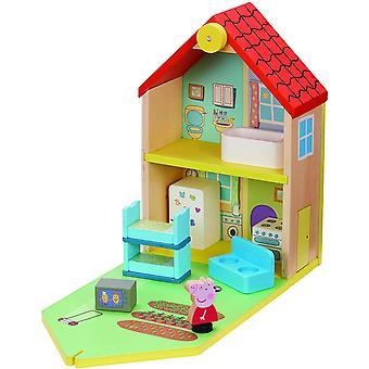 Peppa Pig - Ahşap Oyuncak Evi