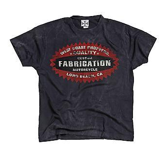 West Coast Choppers Men's T-Shirt Panhead Vintage