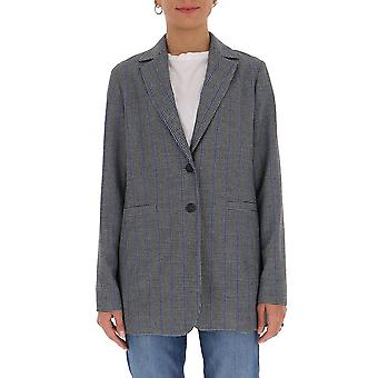 Semi-couture Y0wi01var62 Women's Grey Polyester Blazer