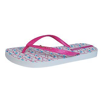 Ipanema Temas Womens Flip Flops / Sandals - Beige Pink