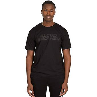 Blood Brother Mens Opal T-Shirt - Black
