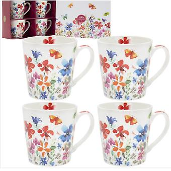 Butterfly Meadow Mukit set of 4 By Lesser & Pavey