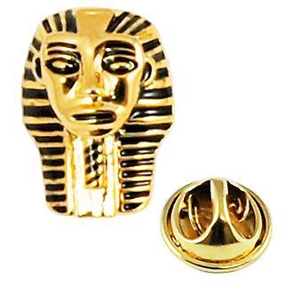 Krawatten Planet König Tut Pharaonen goldene Maske Anstecknadel Abzeichen