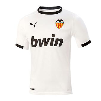 Puma Mens Valencia Home Shirt 2020/21 Jersey Football Training T-Shirt Tee Top