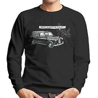 Austin Classic Taxi Brittiläinen Moottoriperintö Men's Collegepaita