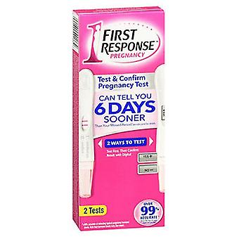 First Response Pregnancy Tests, 2 each
