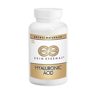 Källa Naturals Hyaluronsyra, 50 mg, från BioCell Collagen II 120 flikar