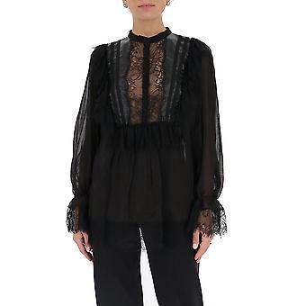 Amen Couture Acw20210009 Women's Black Synthetic Fibers Blouse