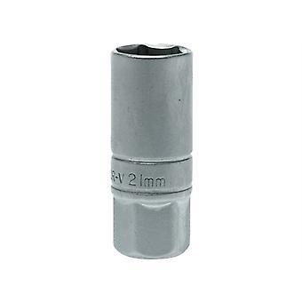 Teng Spark Plug Socket 1/2in Drive 21mm TENM120046