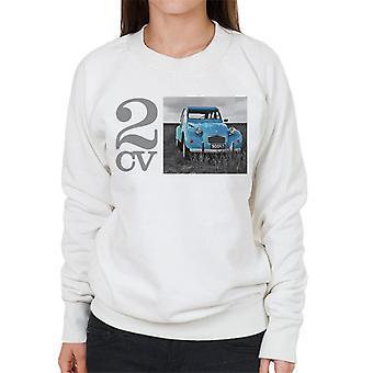 Citro?n 2CV Meadow Photo Women's Sweatshirt