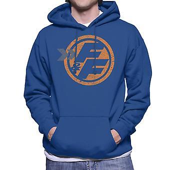 Fast and Furious Orange FF Icon Men's Hooded Sweatshirt